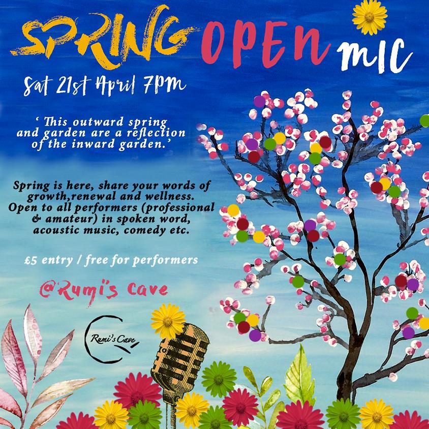 Spring Open Mic Night!