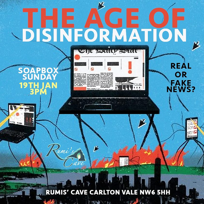 Soapbox Sunday: The Age Of Disinformation