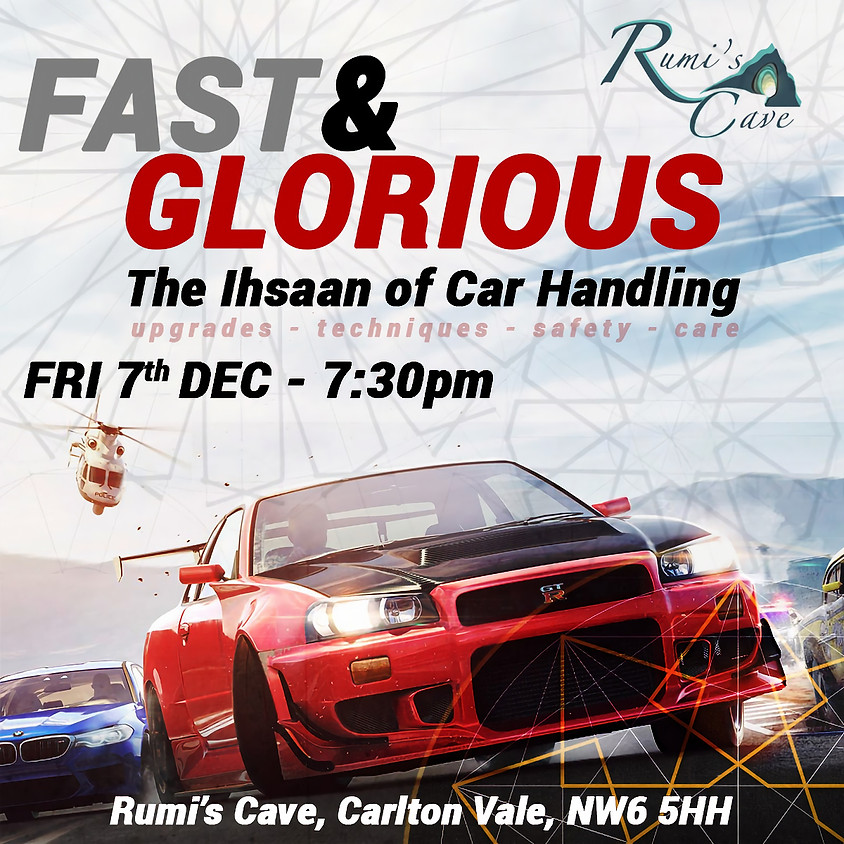 Fast & Glorious: The Ihsaan of car handling