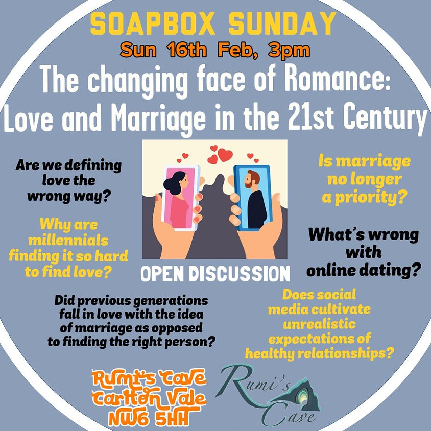 Soapbox Sunday: The changing face of romance: Love and Marriage in the 21st century