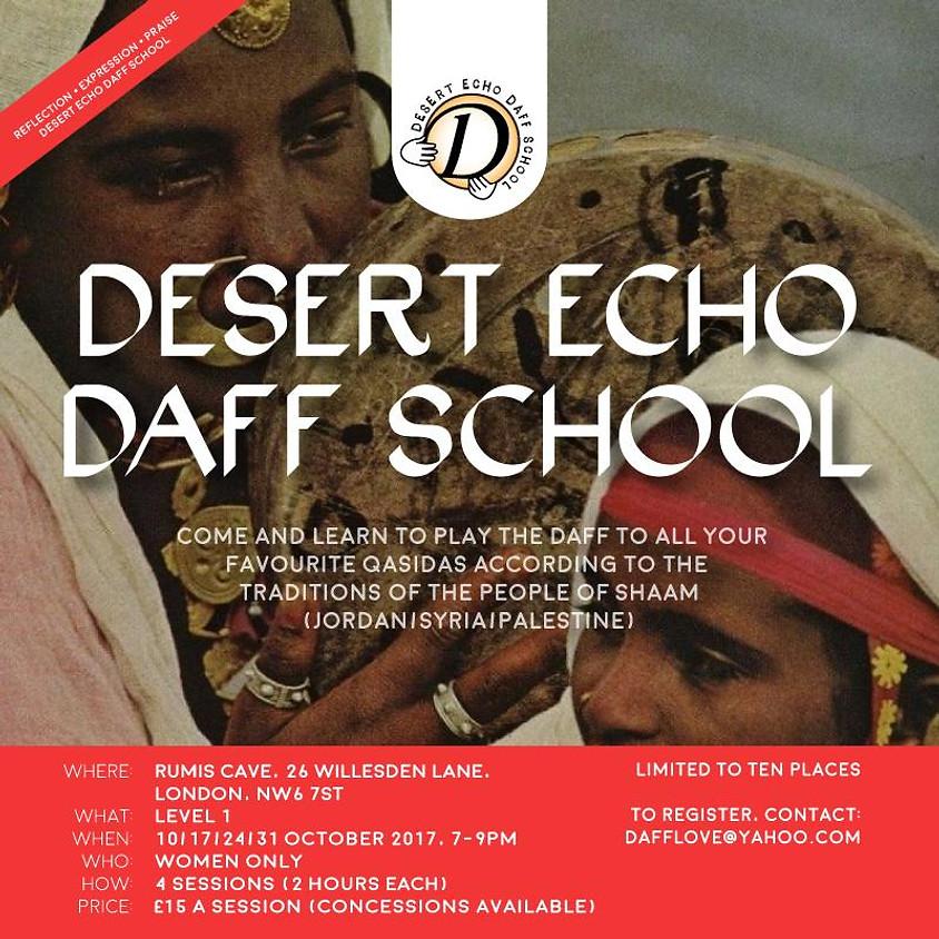 Level 1 Daff - (Session 4 - Final) Led by Desert Echo Daff School