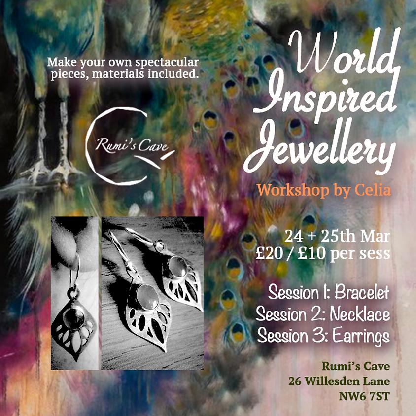 World inspired jewellery workshop