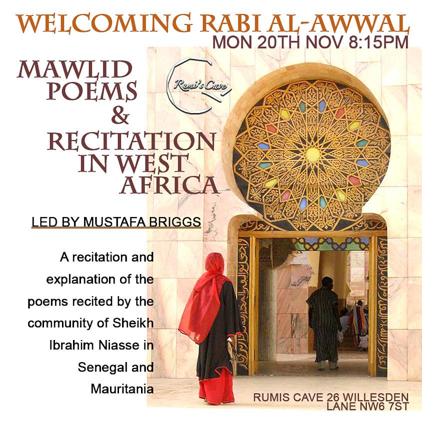 Welcoming Rabi al Awwal - Poetry / Recitations in West Africa