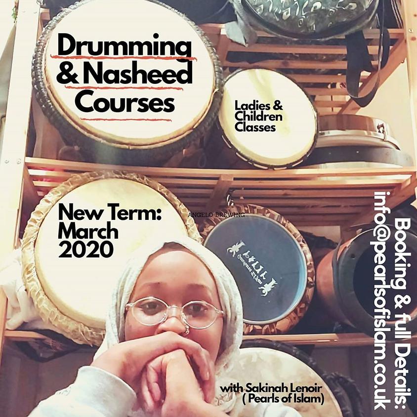 Drumming & Nasheed Courses (Ladies & Children Classes)