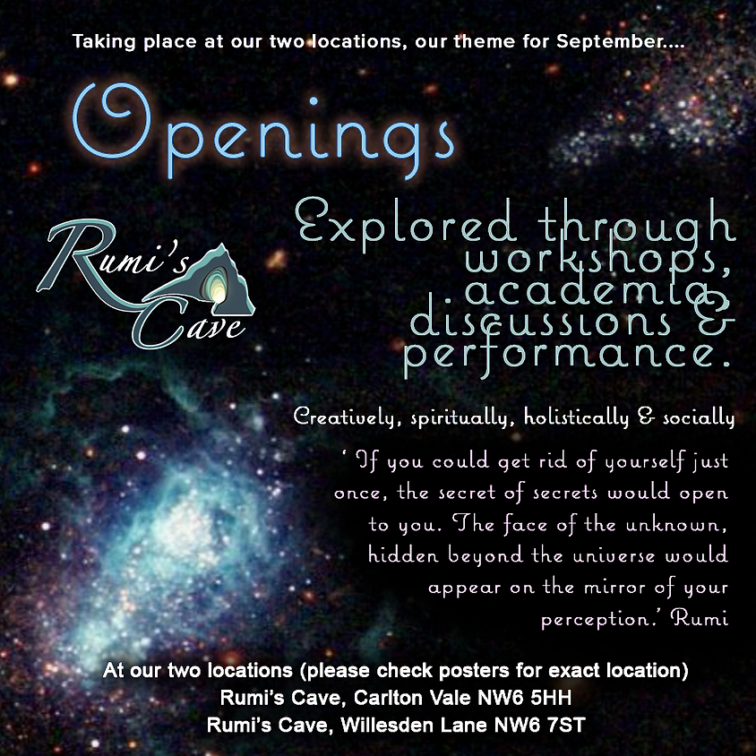 Sept theme: Openings