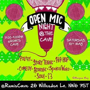 OPEN MIC NIGHT @ THE CAVE