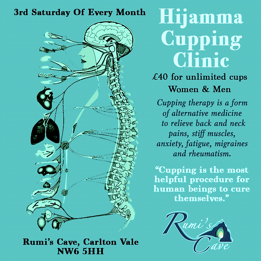 Wet Cupping (Hijamma) Therapy for aches and pains