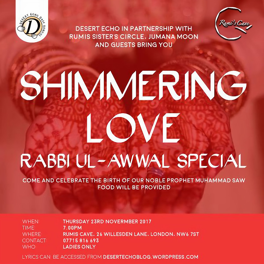 Shimmering Love (Rabi ul Awaal Special)