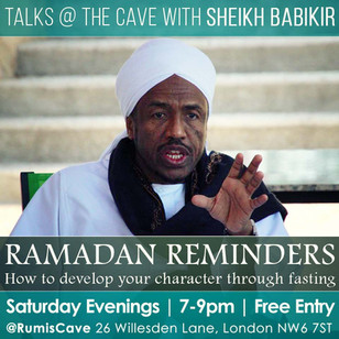 RAMADAN REMINDERS WITH SHEIKH BABIKIR