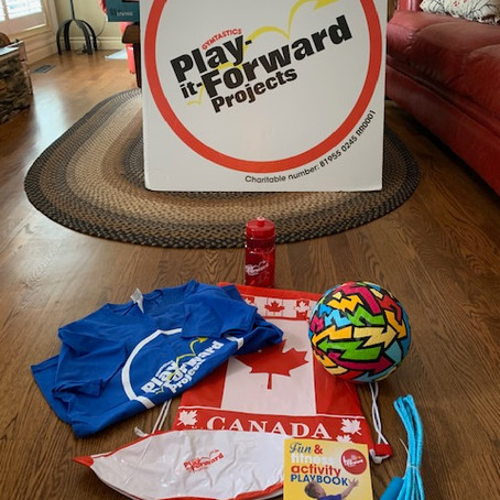 Play-it-Forward Projects: Community In Need Project May 2020