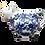Thumbnail: Vache (pot) à lait, Bleuets en fête