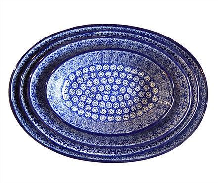 Plat oval pour le four, Moucharabieh