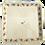 Thumbnail: Plat carré de présentation, Capucines