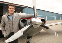 Michael Christie airplane pilot