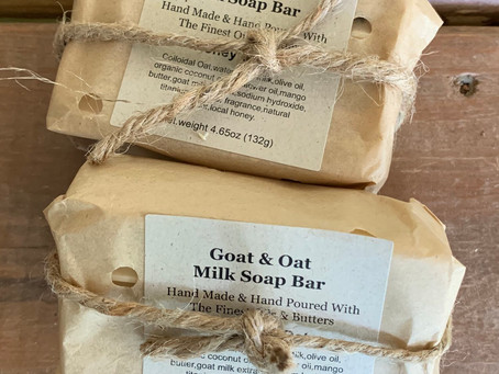 TOP 5 INGREDIENTS YOU WON'T FIND IN A NATURAL HANDMADE BAR OF SOAP