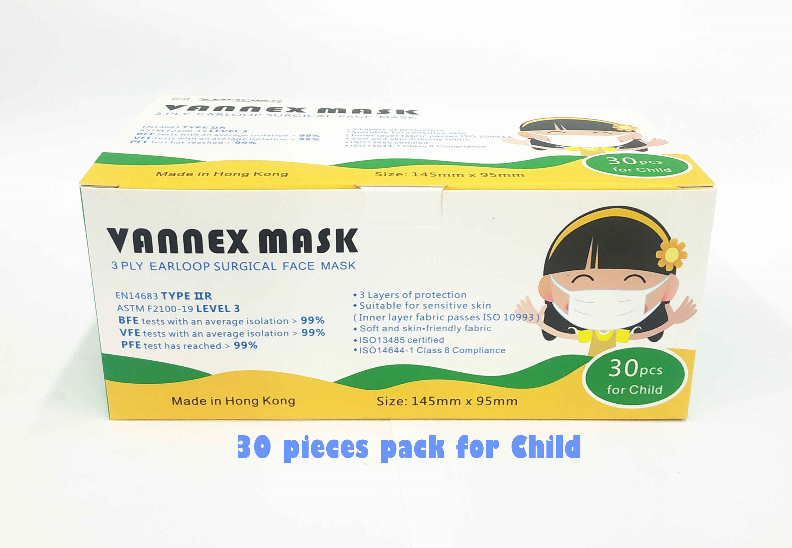 30 pcs pack for Child