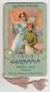 calendarietto da barbiere 1909 cella