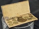 bilancia, bilancino, pesa monete, doppia genova, doppia savoia, doppia spagna doppia roma, coin scale, antique coin scale, antiques, antico, antichita, antichita'