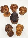 antico, antique, vintage antichi, antiques, scultura, statua, sculpture, statue, bambocci, wood, legno