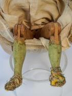 Bambola da presepe napoletana