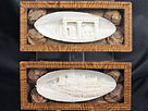 antique, antico, vintage, art nouveau, osso di seppia, cuttlefish bone, napoli, naples, incisione, basso rilievo, scultura