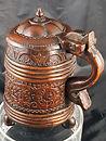 wood, antique antico, vintage, beer mug, boccale da birra, scandinavian, scandinavia, tankard, jug