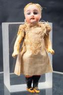 bambola antica testa di biscuit