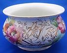 ceramica, maiolica, terracotta, vaso da notte antico, ceramic, antique chamber pot
