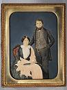 tempera, ritratto, portrait, vittoriano, victorian, paint, quadro, painting