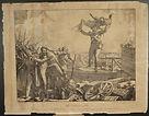 Charles-Philibert de Lasteyrie, stampa, litografia, lithography, print, C. de Last., Affaire d'Astorga en Gallice