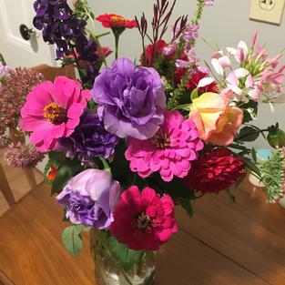 September's finest bouquet