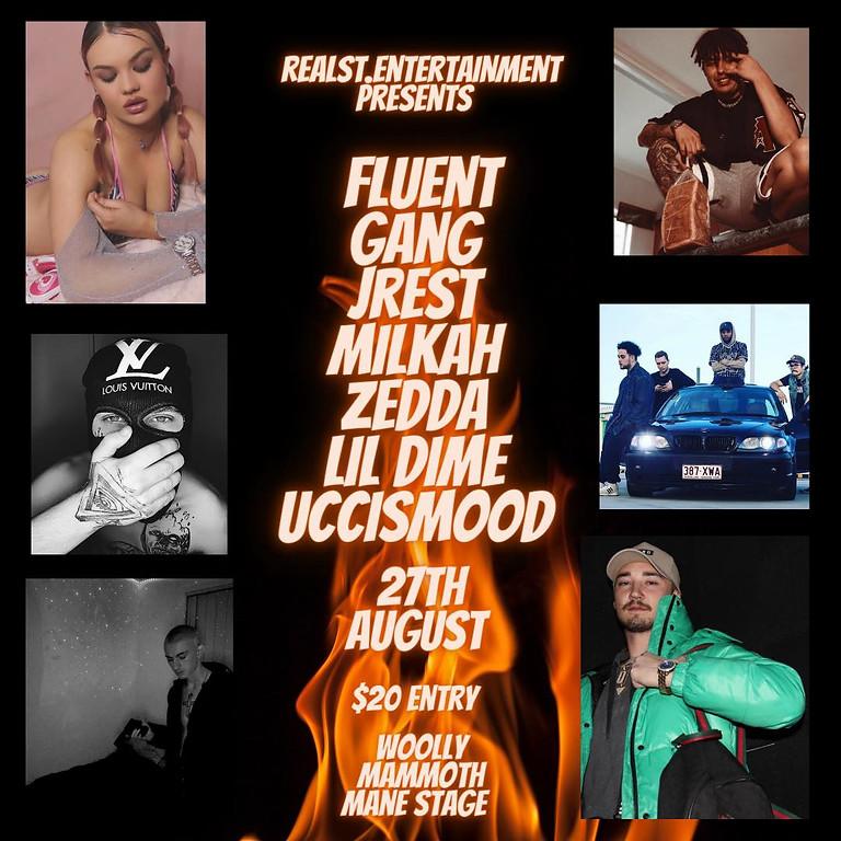 Fluent Gang,Jrest, Lil Dime & More