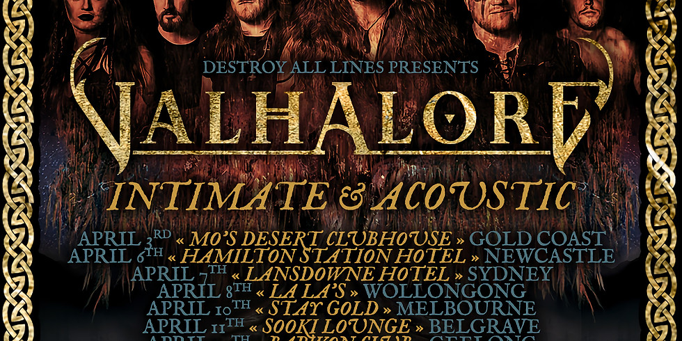 VALHALORE w/ The Lost Knights + King George