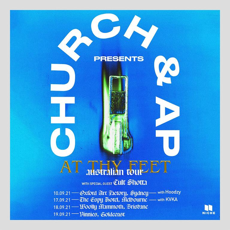 Church & AP 'At Thy Feet' Australian Tour