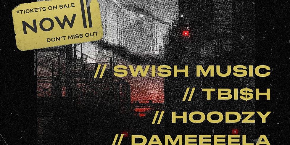 OVERDUE ft SWISH, HOODZY, TBI$H & DAMEEEELA