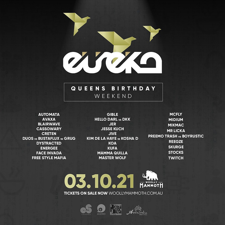 Eureka - Queen's Birthday Weekend Edition!