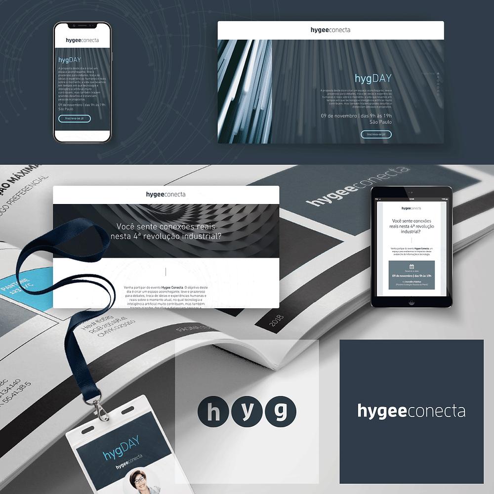 InsigMa_Portfolio de Clientes_Hygee Conecta_Criação de Marca_Identidade Visual_Criação de Site