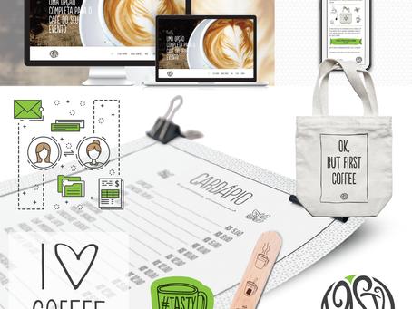 Criação de identidade visual, site e linha do tempo do cliente: Tasty