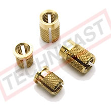 Diamond Knurl Expansion Inserts, Series 81, Series 82 Headed, INS 81, INS 82 Headed