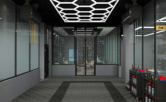 Hexi Light Kit  15.7 ft x 9.9 ft