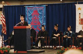 Mark Scarola commencement at Syracuse University