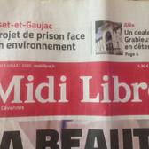 7 - 01/07/20 Une Midi Libre.jpg
