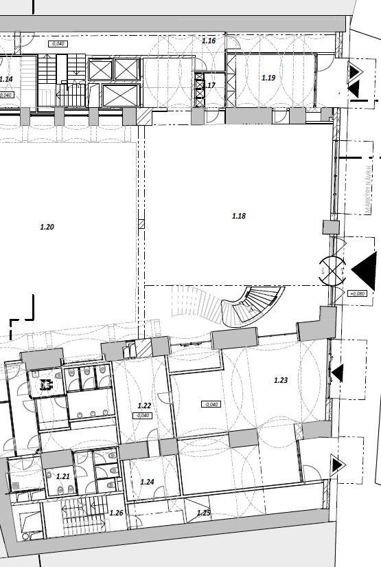Lobby floor plan