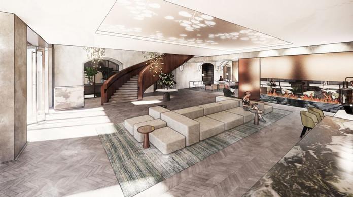 Lobby / Reception Visual