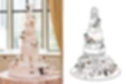 custom wedding cake design
