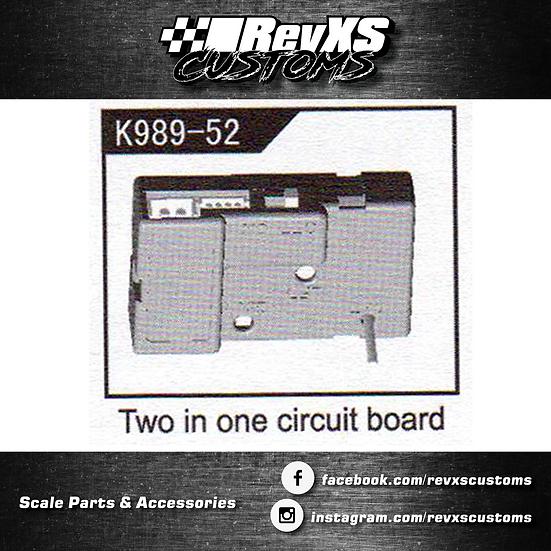 K989-56 ESC/Reciver Combo