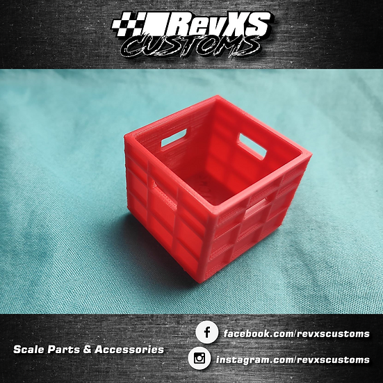 Scale Garage Stackable Containers