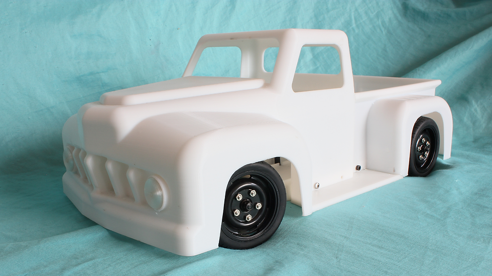 1/10th RC Hotrod Truck body STL Files