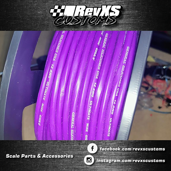12awg Silicone Wire Purple