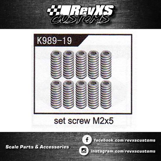 K989-19 Set Screw M2*5